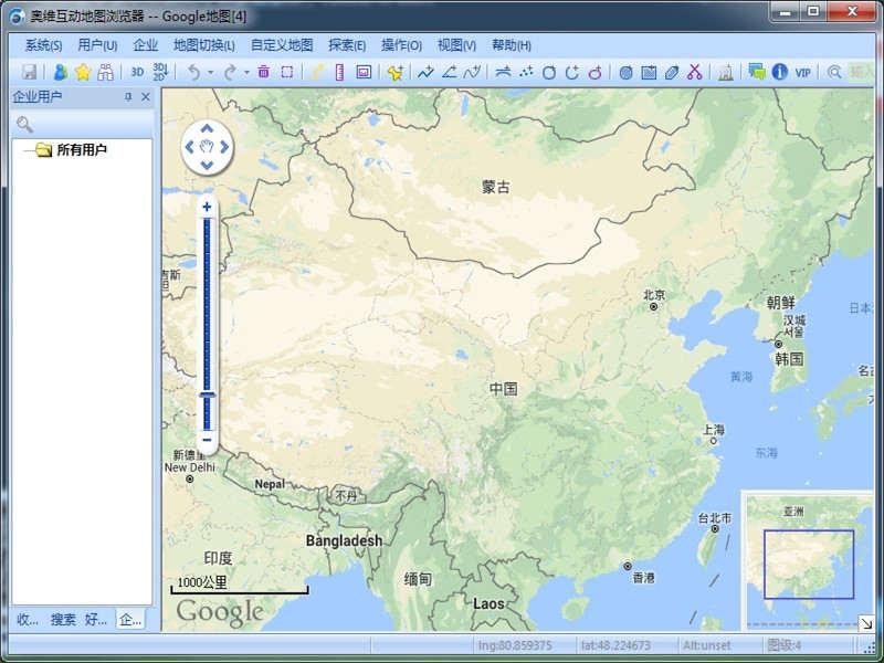 奥维互动地图浏览器 32位