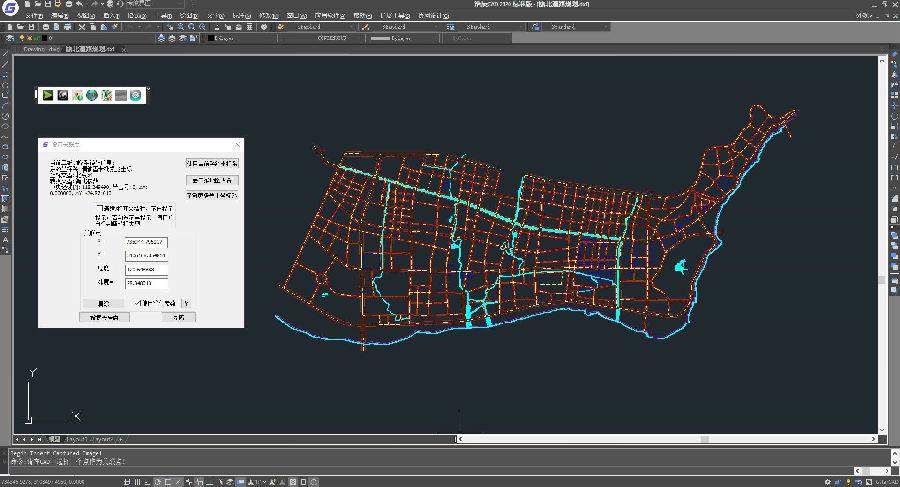 奥维互动地图浏览器浩辰CAD插件(OmapGrx)