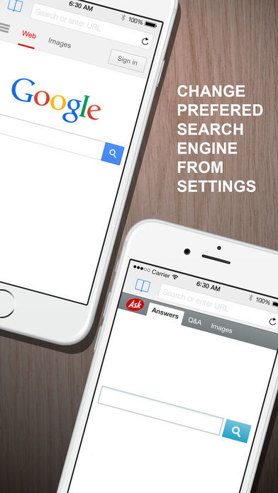 全屏隐私浏览器-iPhone和iPad